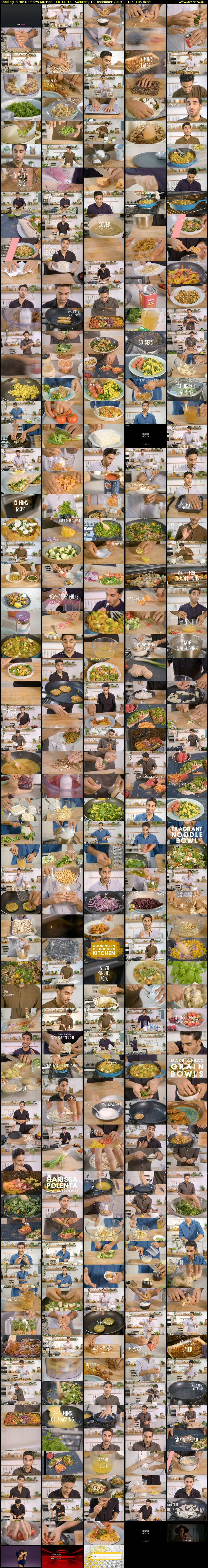 Cooking in the Doctor's Kitchen (BBC RB 1) Saturday 14 December 2019 11:25 - 14:30