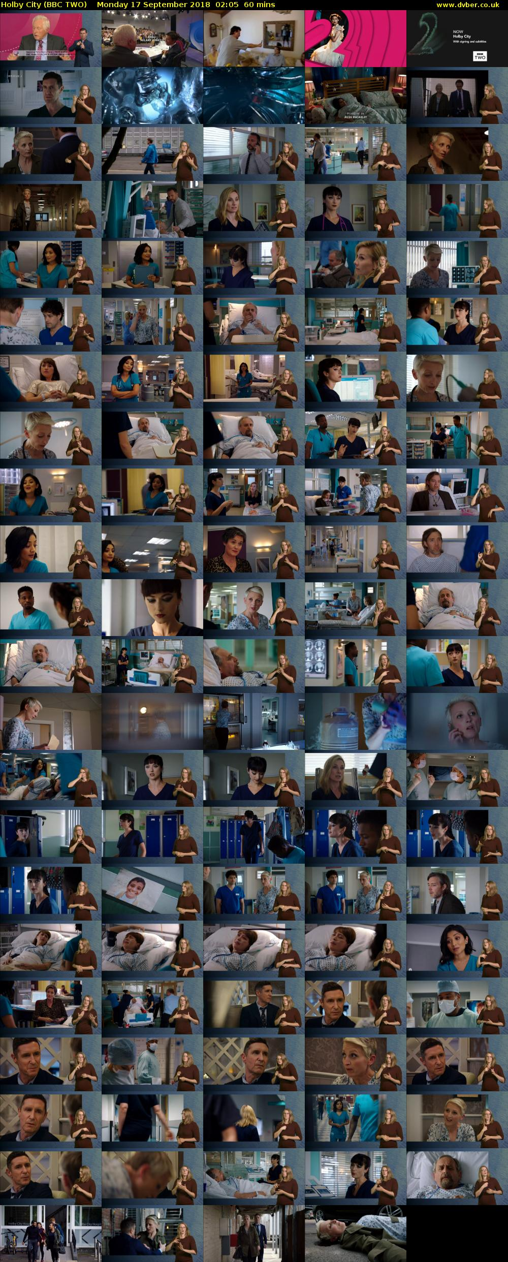 Holby City (BBC TWO) Monday 17 September 2018 02:05 - 03:05