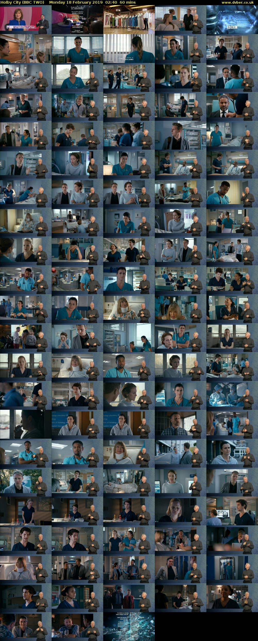Holby City (BBC TWO) Monday 18 February 2019 02:40 - 03:40