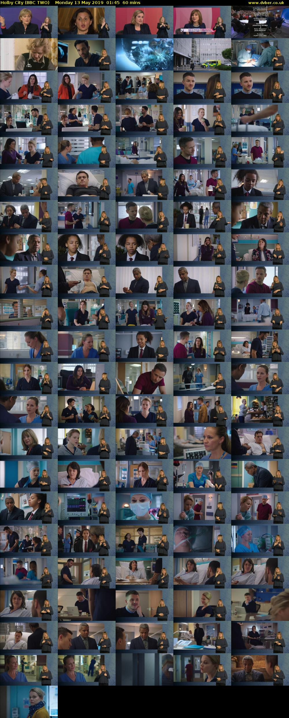 Holby City (BBC TWO) Monday 13 May 2019 01:45 - 02:45