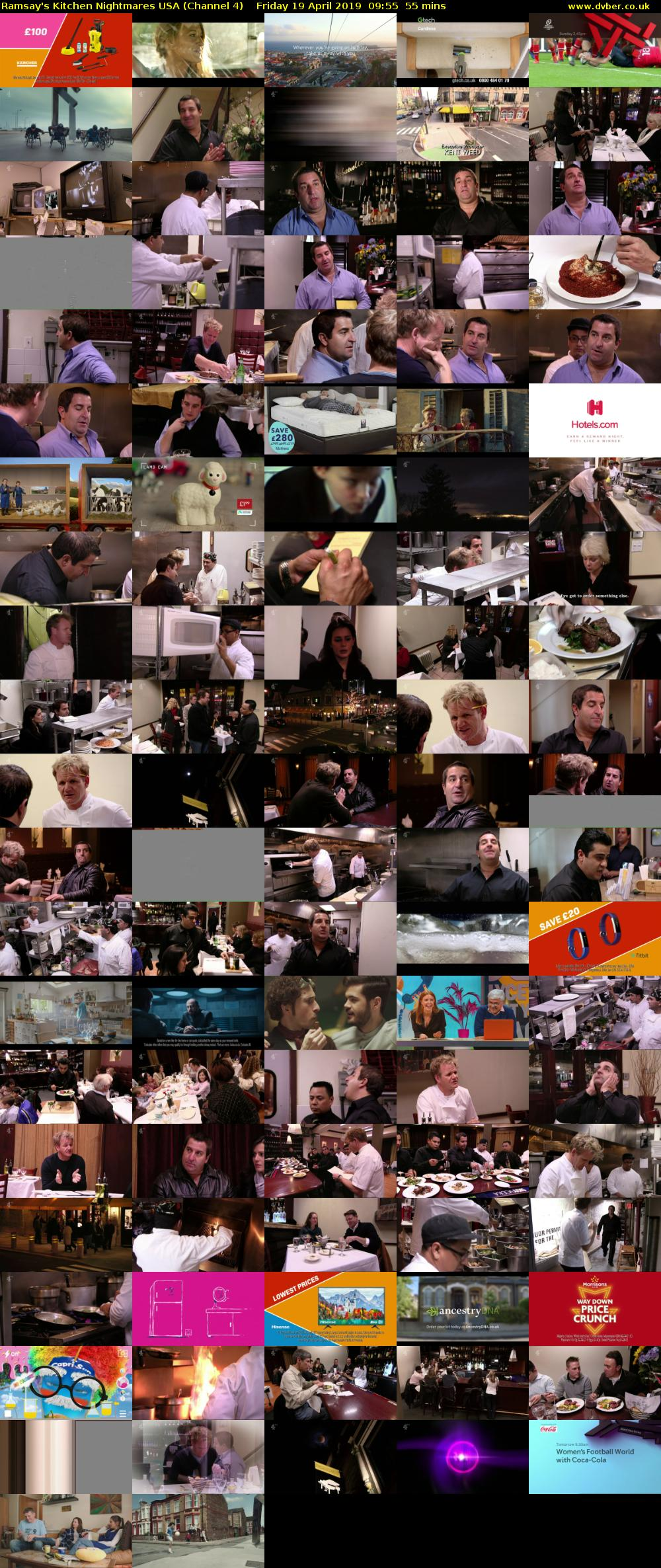 Ramsay's Kitchen Nightmares USA (Channel 4) Friday 19 April 2019 09:55 - 10:50