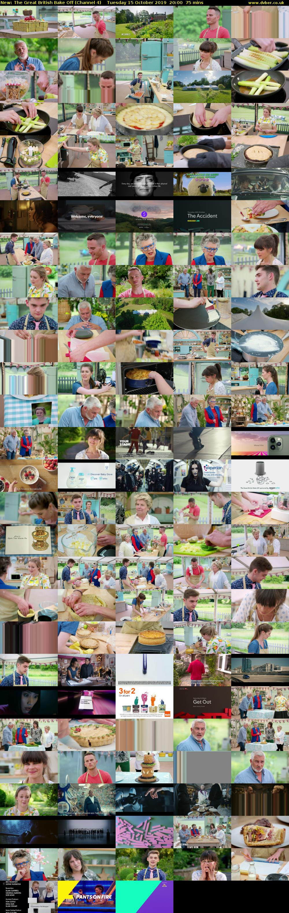 The Great British Bake Off (Channel 4 HD) - 2019-10-15-2000