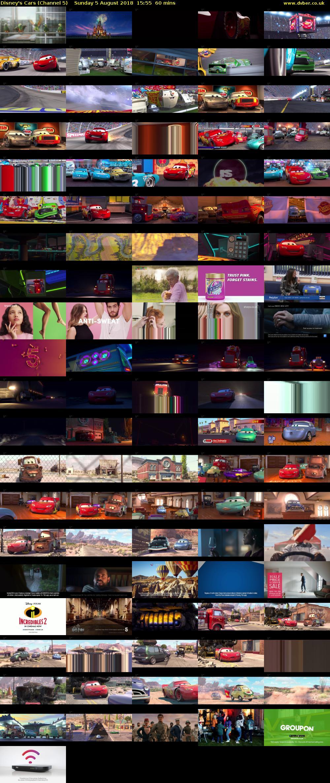 Disney S Cars Channel 5 Hd 2018 08 05 1555