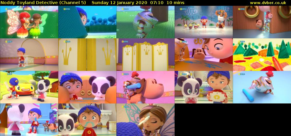 Noddy Toyland Detective (Channel 5) Sunday 12 January 2020 07:10 - 07:20
