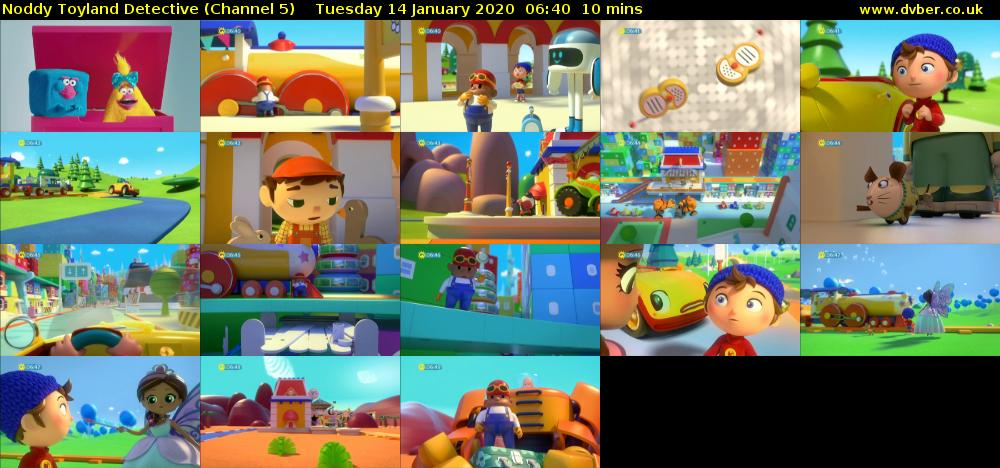 Noddy Toyland Detective (Channel 5) Tuesday 14 January 2020 06:40 - 06:50