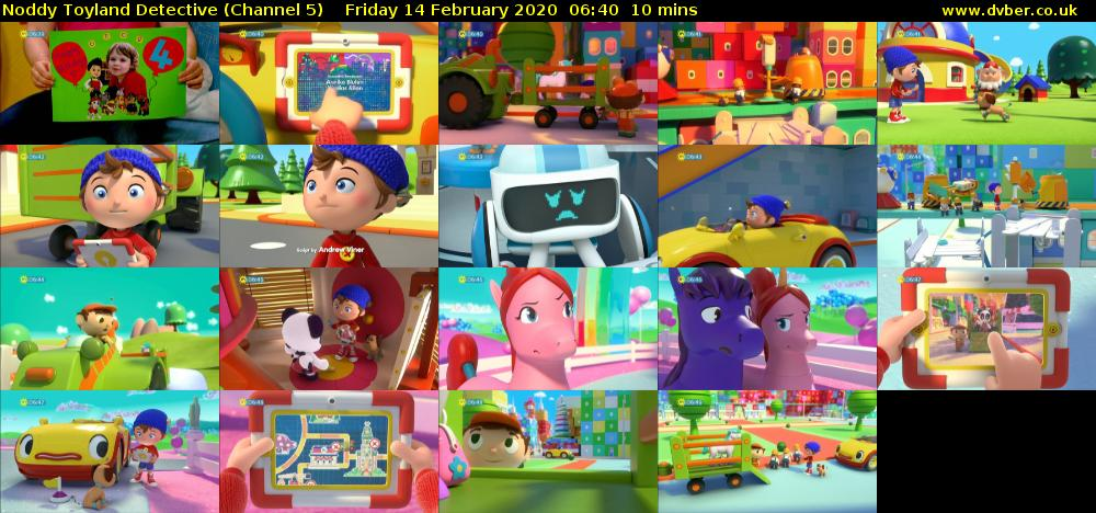 Noddy Toyland Detective (Channel 5) Friday 14 February 2020 06:40 - 06:50