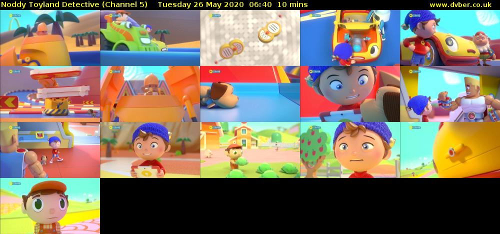 Noddy Toyland Detective (Channel 5) Tuesday 26 May 2020 06:40 - 06:50