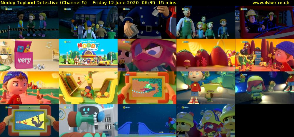 Noddy Toyland Detective (Channel 5) Friday 12 June 2020 06:35 - 06:50