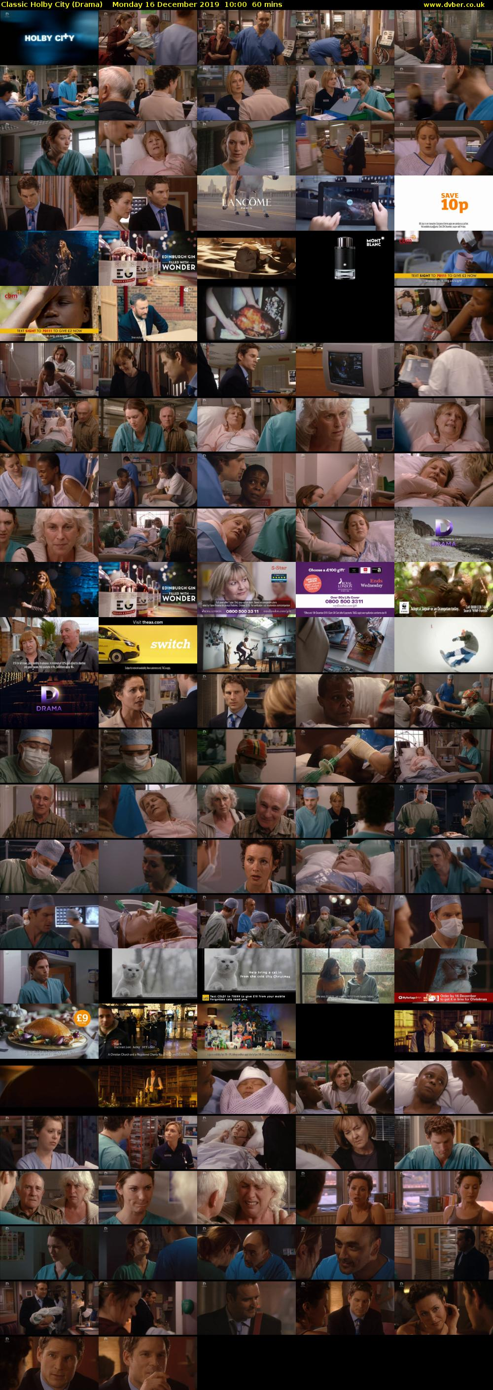 Classic Holby City (Drama) Monday 16 December 2019 10:00 - 11:00