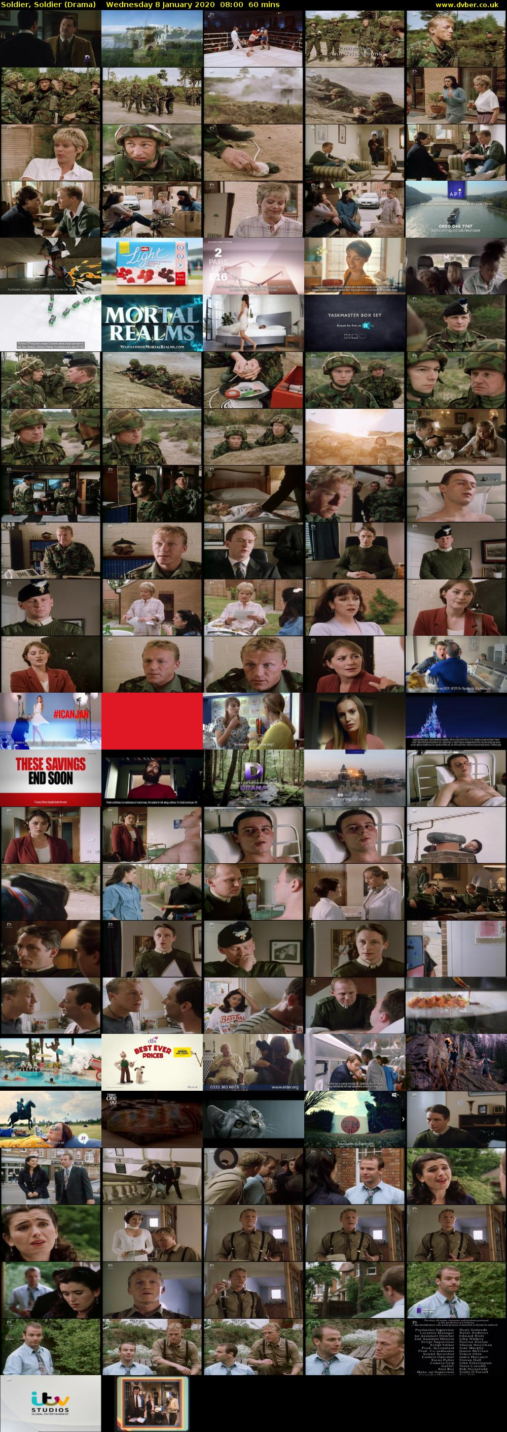 Soldier, Soldier (Drama) Wednesday 8 January 2020 08:00 - 09:00