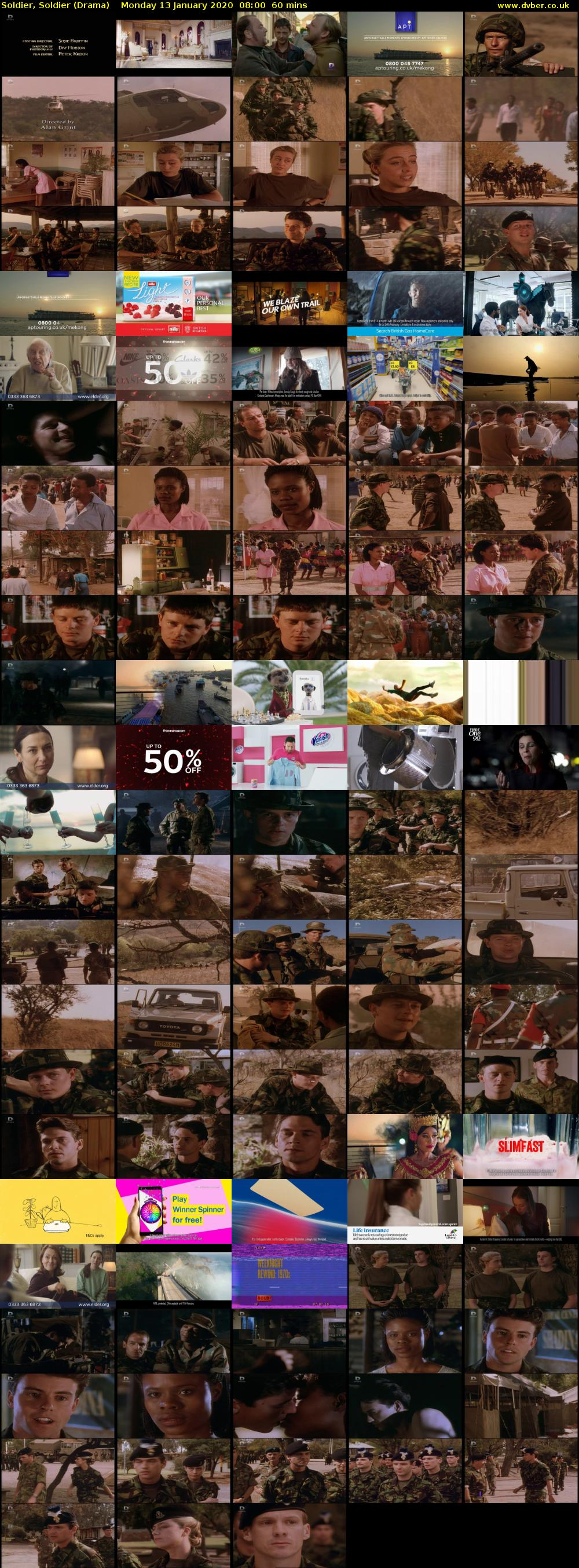 Soldier, Soldier (Drama) Monday 13 January 2020 08:00 - 09:00