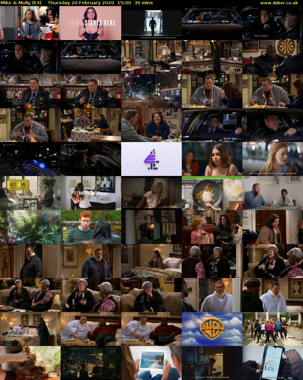Mike & Molly (E4) Thursday 20 February 2020 15:00 - 15:30
