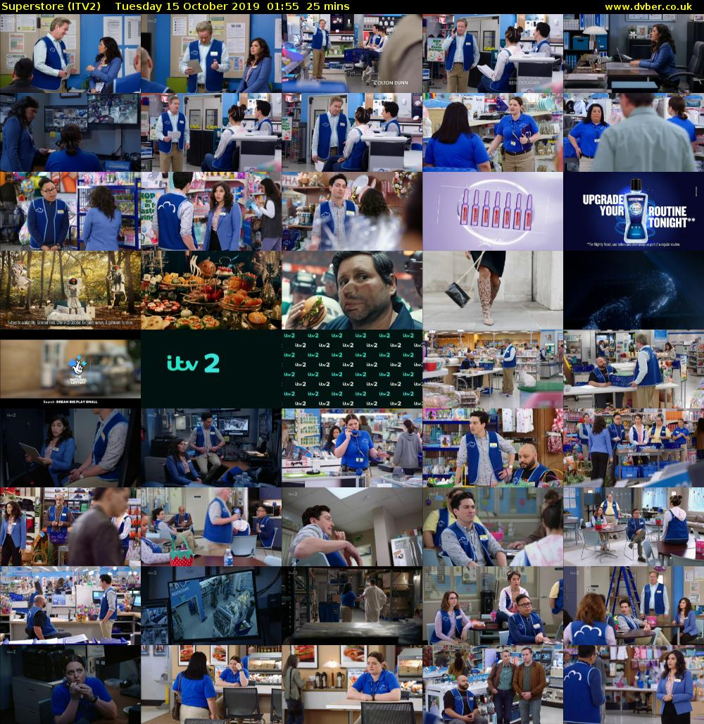 Superstore (ITV2) Tuesday 15 October 2019 01:55 - 02:20