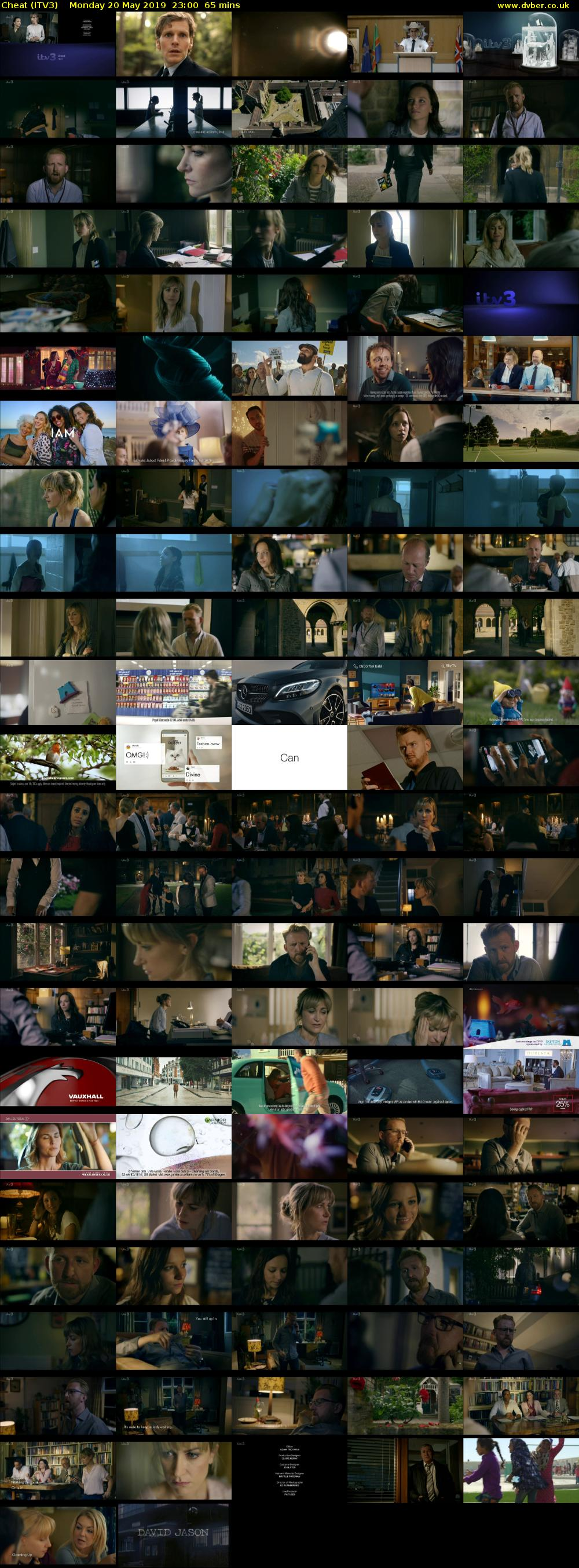 Cheat (ITV3) Monday 20 May 2019 23:00 - 00:05