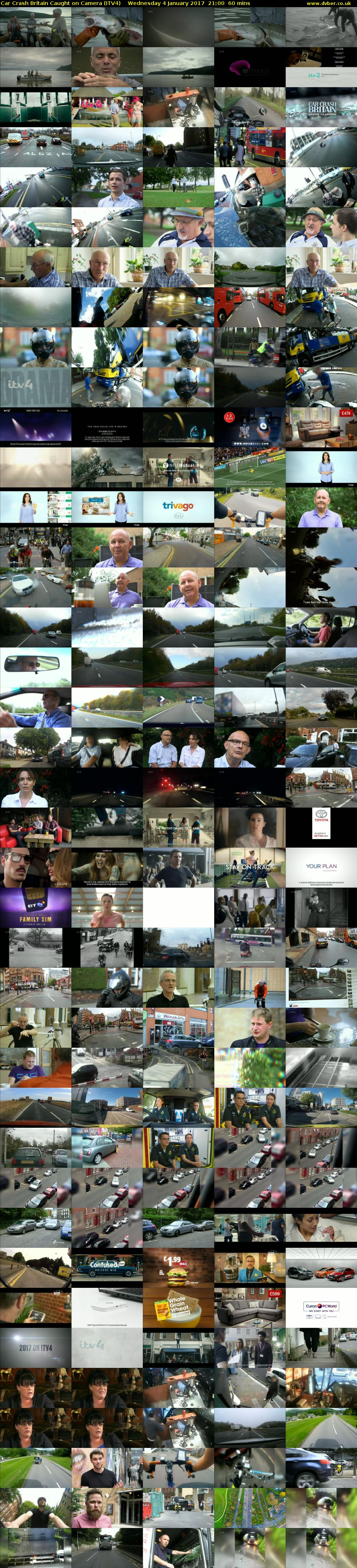 Car Crash Britain Caught on Camera (ITV4) Wednesday 4 January 2017 21:00 - 22:00