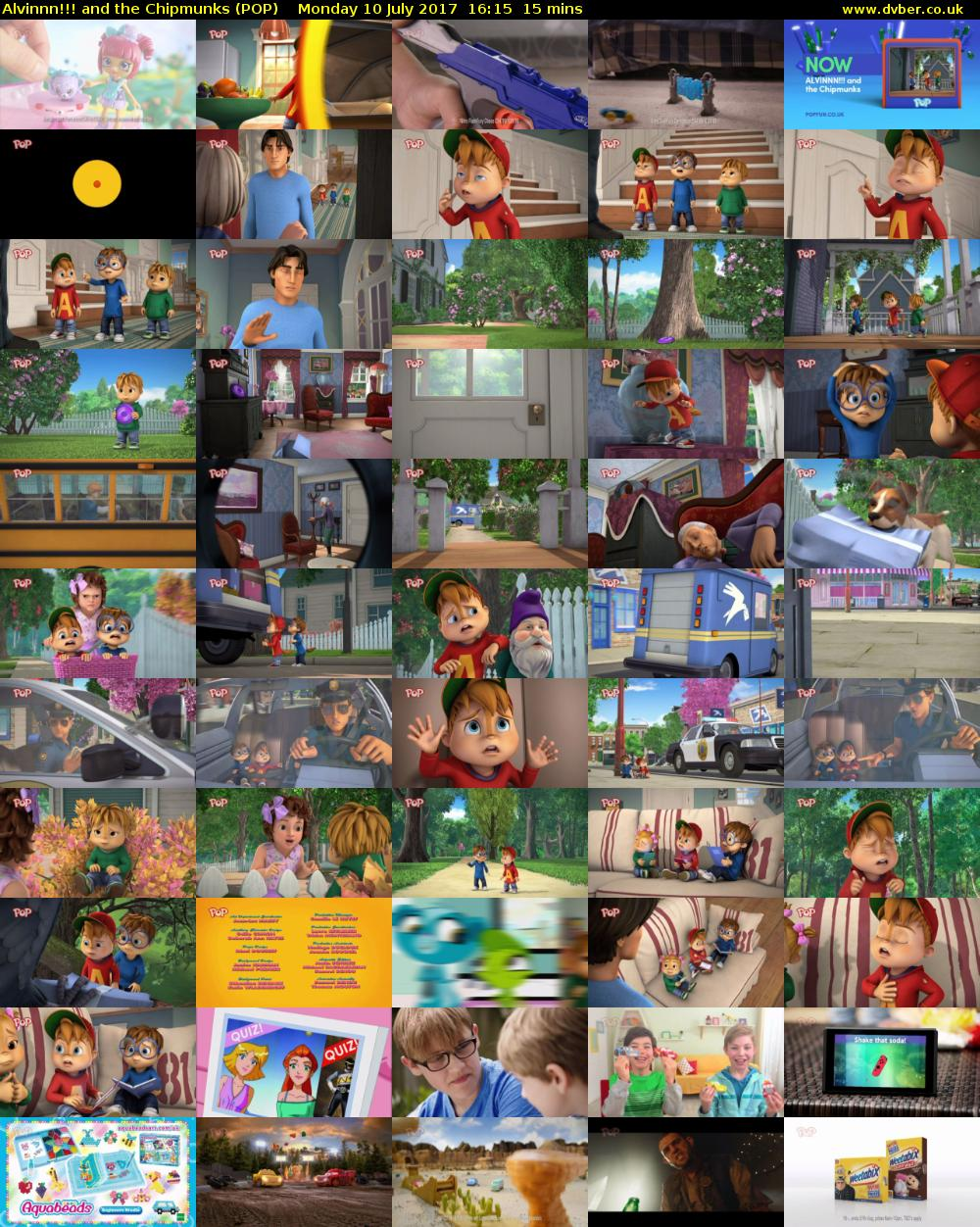 Alvinnn!!! and the Chipmunks (POP) Monday 10 July 2017 16:15 - 16:30