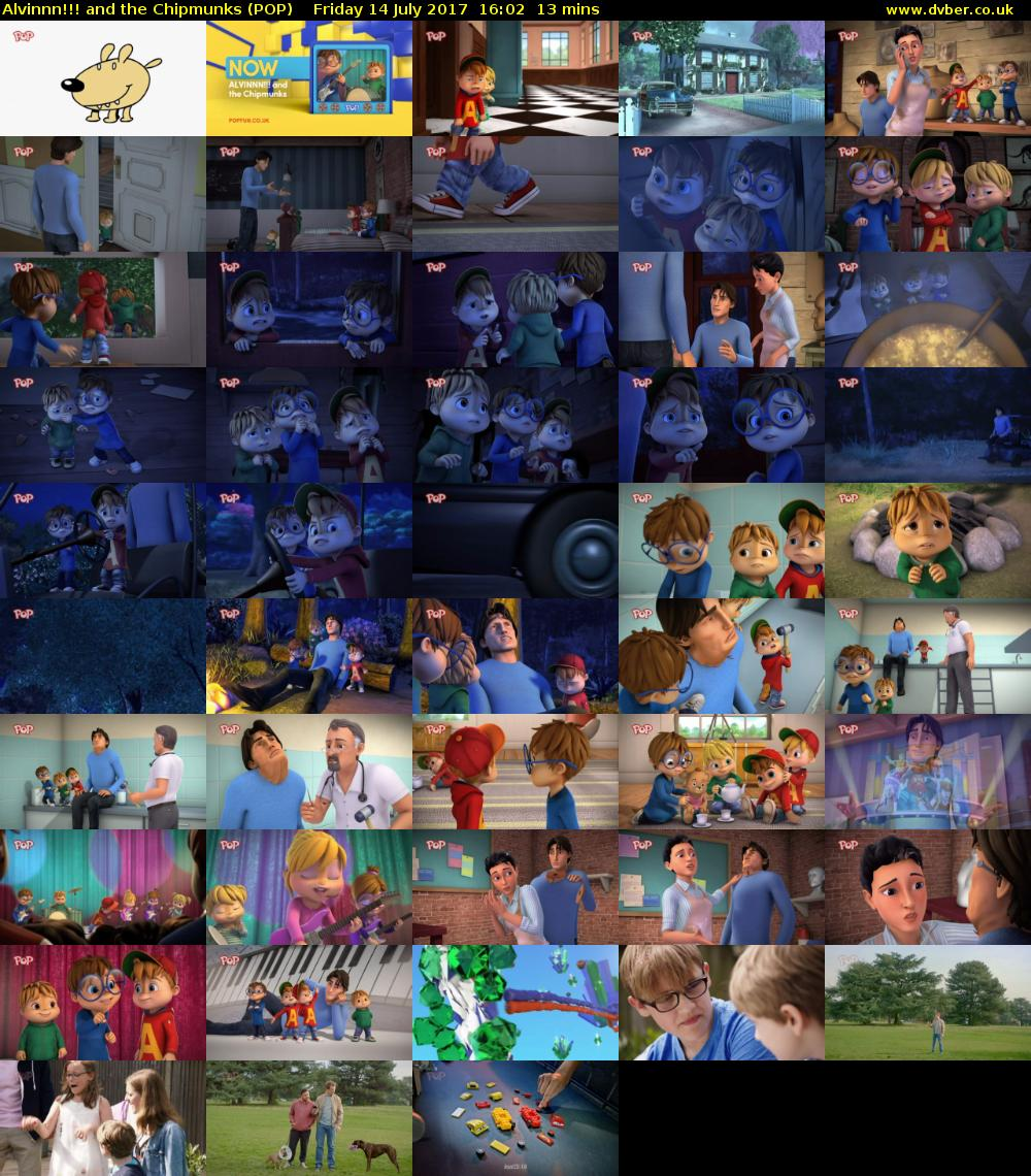 Alvinnn!!! and the Chipmunks (POP) Friday 14 July 2017 16:02 - 16:15