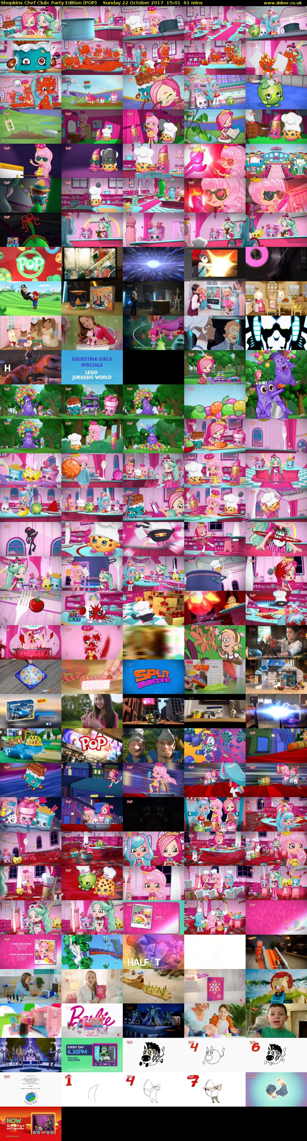 Shopkins Chef Club: Party Edition (POP) Sunday 22 October 2017 15:01 - 16:02