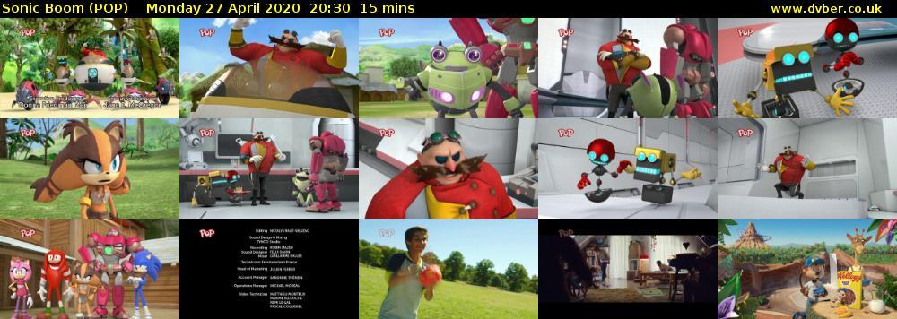 Sonic Boom (POP) - 2020-04-27-2030