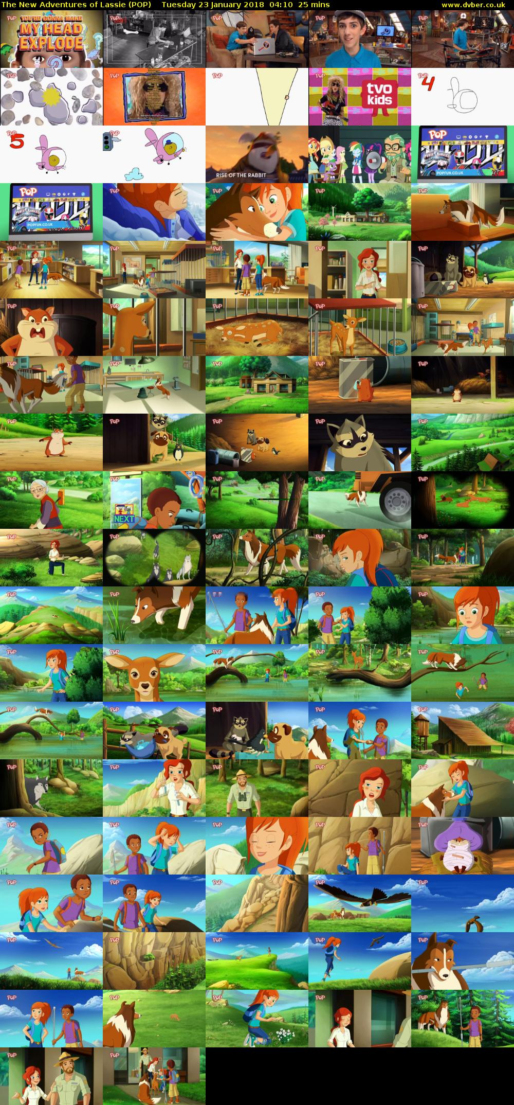 The New Adventures of Lassie (POP) Tuesday 23 January 2018 04:10 - 04:35