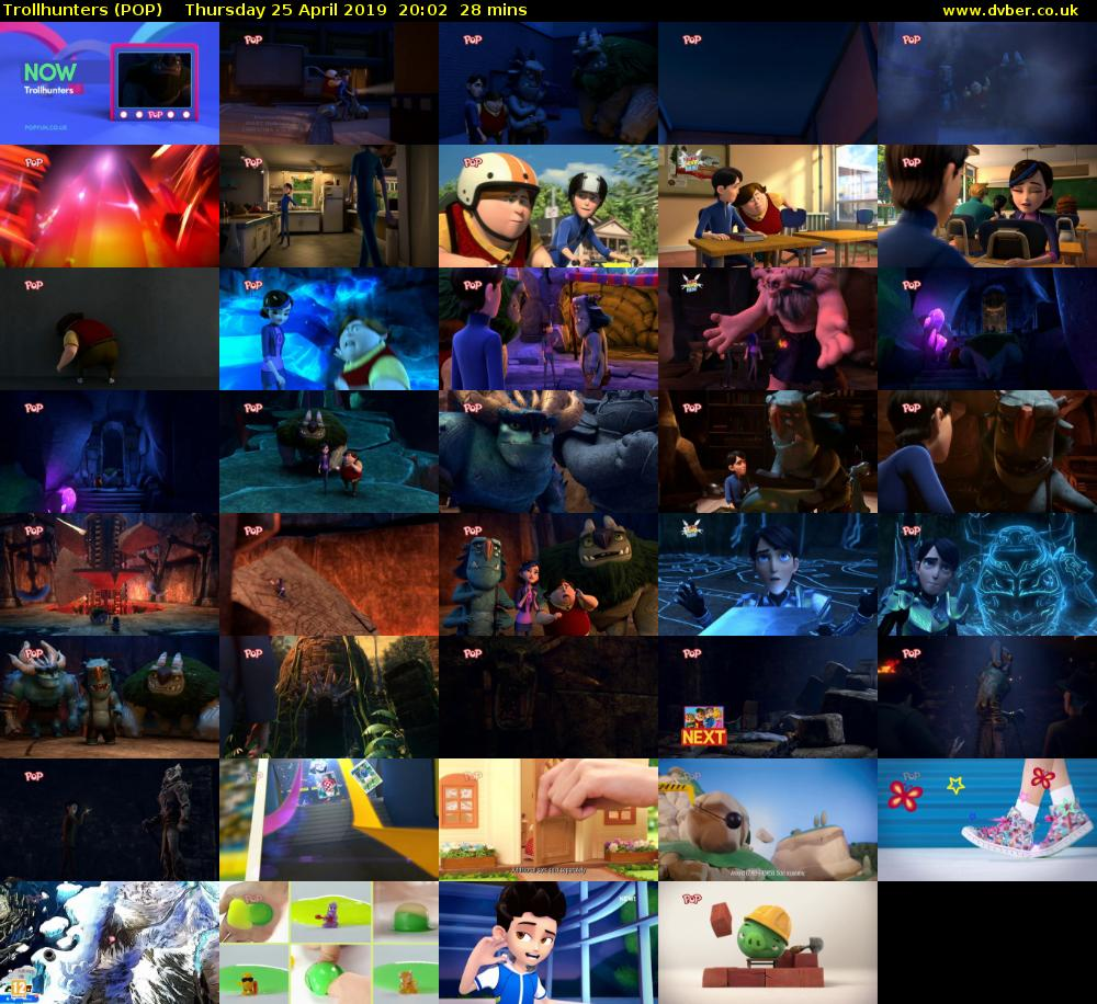 Trollhunters (POP) Thursday 25 April 2019 20:02 - 20:30