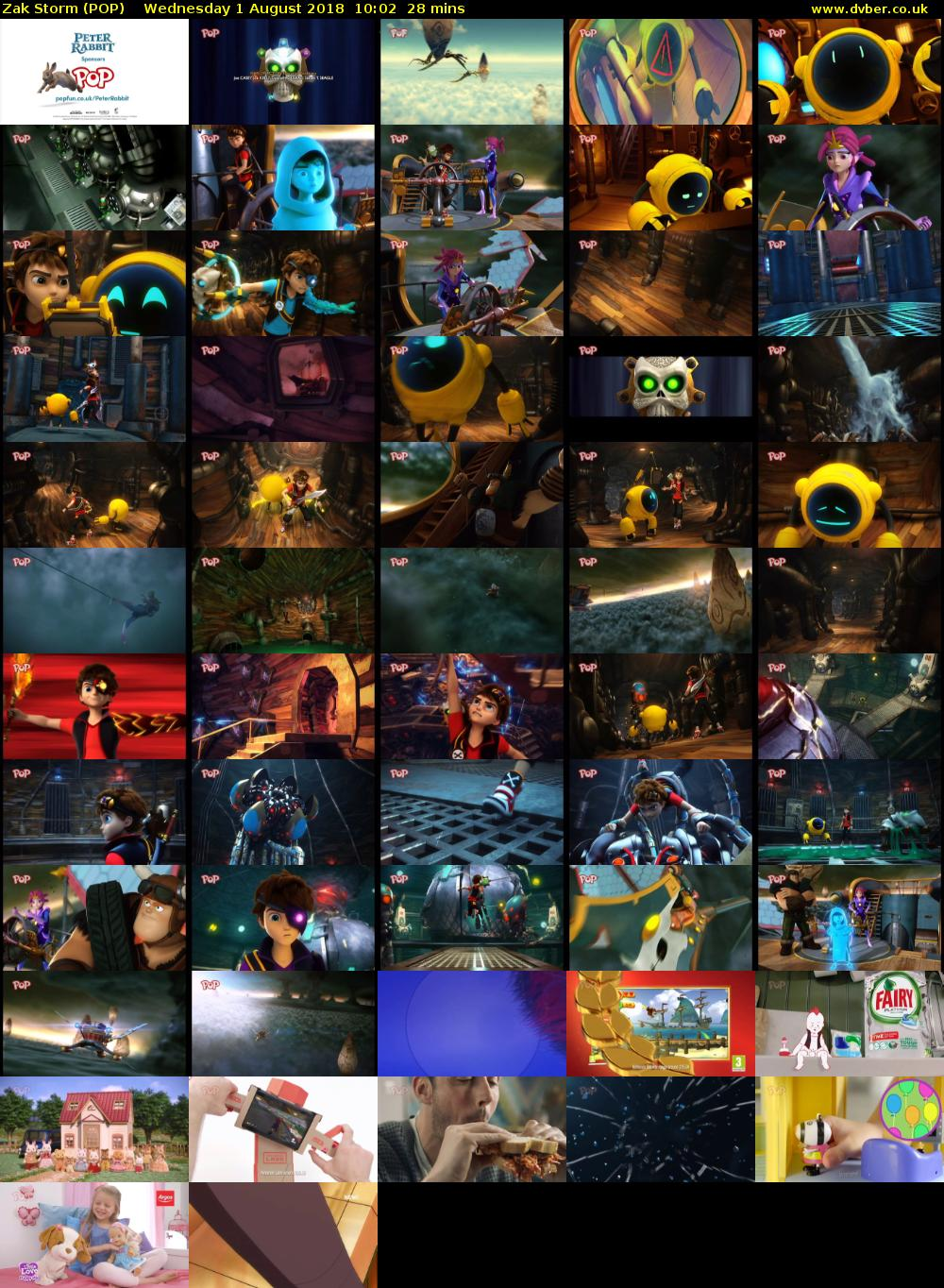 Zak Storm (POP) Wednesday 1 August 2018 10:02 - 10:30