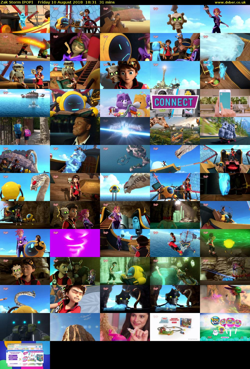 Zak Storm (POP) Friday 10 August 2018 18:31 - 19:02