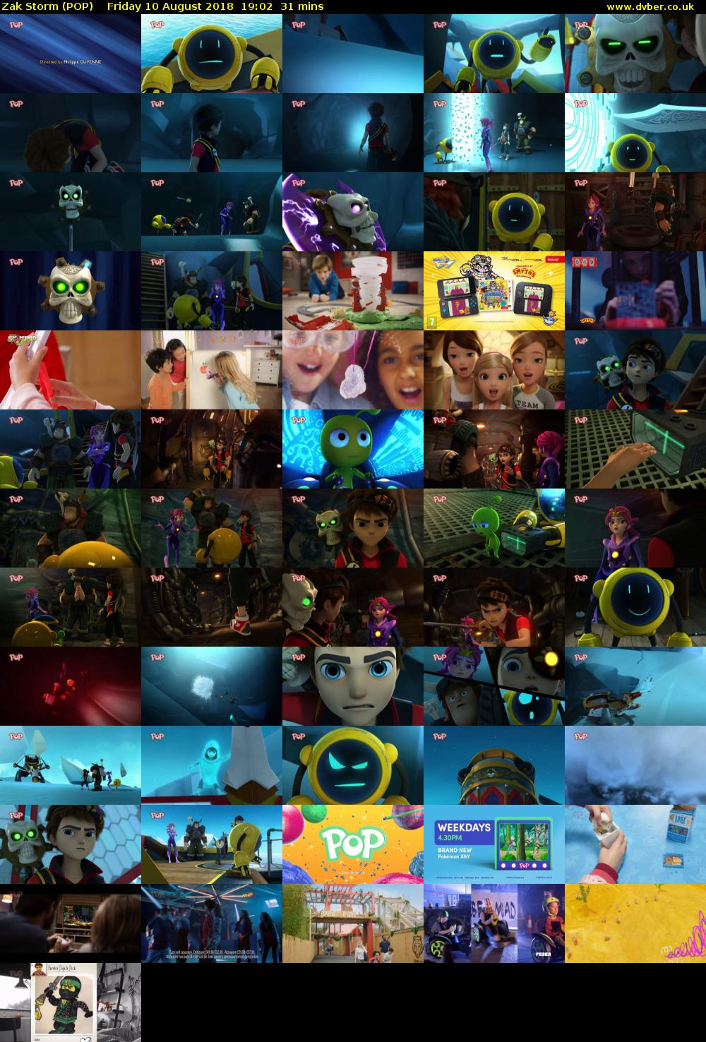 Zak Storm (POP) Friday 10 August 2018 19:02 - 19:33