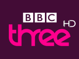 BBC THREE HD logo