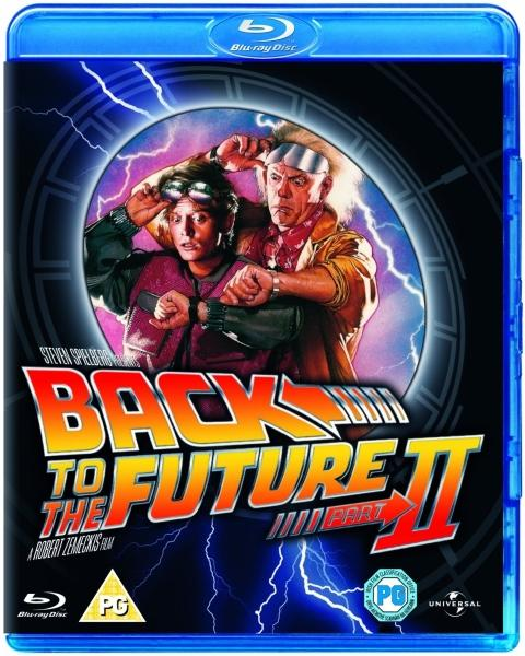 Back to the Future Part II cover
