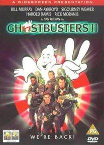Ghostbusters 2 cover