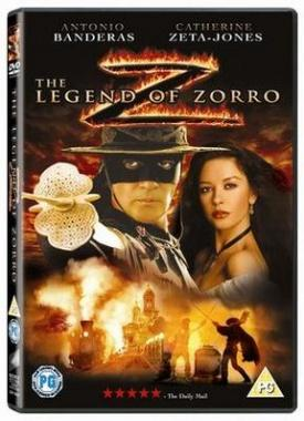 The Legend Of Zorro cover