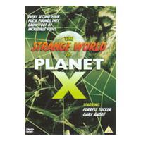The Strange World Of Planet X cover