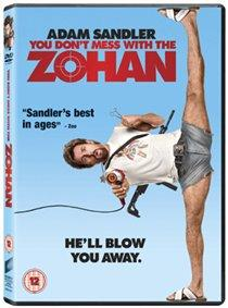 You Don't Mess With the Zohan cover
