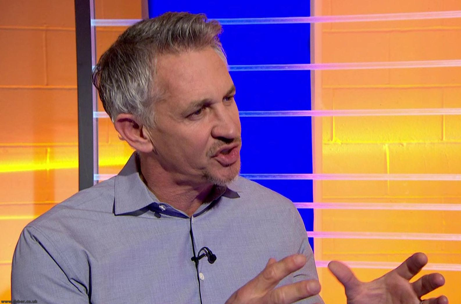 Gary Lineker on Match of the Day (BBC ONE N West)